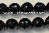 natural black tourmaline gemstone beads